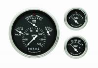 Classic Instruments (Gauges) - 1957 Chevy Belair Gauges - 1957 Chevy Belair Black