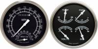 Classic Instruments (Gauges) - 1947-53 Chevy Truck Gauges - 1947-1953 Chevy Truck Traditional w/Speedtachular