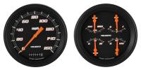 Classic Instruments (Gauges) - 1947-53 Chevy Truck Gauges - 1947-1953 Chevy Truck Velocity Series Black