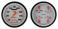 Classic Instruments (Gauges) - 1947 - 1953 Chevy Truck Gauges - 1947 -  1953 Chevy Truck Velocity Series White