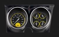 Classic Instruments (Gauges) - 1967 & 1968 Camaro Gauges - 1967 - 1968 Camaro Auto Cross Yellow