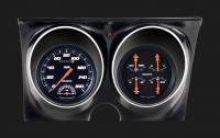 Classic Instruments (Gauges) - 1967 & 1968 Camaro Gauges - 1967 - 1968 Camaro Velocity Black