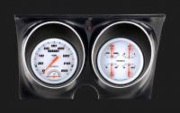 Classic Instruments (Gauges) - 1967 & 1968 Camaro Gauges - 1967 - 1968 Camaro Velocity White