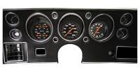 Classic Instruments (Gauges) - 1970-72 Chevelle Gauges - 1970-1972 Chevelle Velocity Series Black