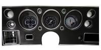 Classic Instruments (Gauges) - 1970-72 Chevelle Gauges - 1970-1972 Chevelle AutoCross Gray