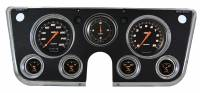 Classic Instruments (Gauges) - 1967-72 Chevy Truck Gauges - 1967-1972 Chevy Truck Velocity Series Black