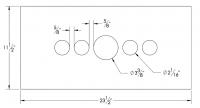 Dash Panel Insert Gauges Either Side of Speedo - Stainless Steel