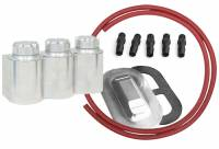 Kugel Komponents (Brake/Clutch Pedal Assemblies) - Accessories - Aluminum Triple Remote Reservoir Kit For Corvette Master