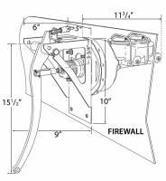 "Brakes and Brake Kits - Manual Brake With 1"" Bore Aluminum M/C - Image 2"