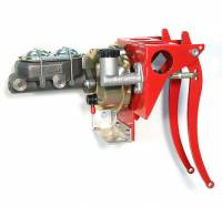 """Brakes and Brake Kits - Power Brake & Clutch With 1"""" Cast Iron M/C With Clutch M/C and 7"""" Booster - Image 1"""