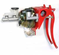 """Brakes and Brake Kits - Power Brake & Clutch With 7/8"""" Aluminum M/C With Clutch M/C & 8"""" Dual Booster - Image 1"""