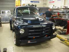 1950 Studebaker Truck Partial Build Cover