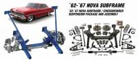 Heidt's Hot Rod Shop (Suspension Systems) - 1962-74 Chevy II or Nova - Suspension Systems - 1962-1967 Nova Front Subframe