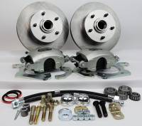 "Master Power Brakes - 1955 - 1957 Chevy - 1955 - 1957 Chevy Front 11"" Disc Brake Kit with Power Booster"