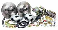 "Master Power Brakes - 1964-72 Chevelle or A-Body Cars - 1964-1972 Chevelle Front 11"" Disc Brake Kit with Power Booster"