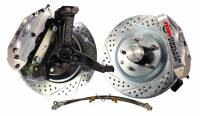 "Master Power Brakes - 1970-81 Camaro or Firebird - 1970-1981 Camaro Front 13"" Disc Brake Kit with Power Booster"