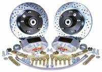 Master Power Brakes - 1961-66 Ford F100 Truck - 1961 - 1966 Ford Truck Front D/S Disc Brake Conversion