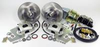 "Master Power Brakes - 1955 - 1959 Chevy Pickup - 1955 - 1959 Chevy Pickup Front 11"" Disc Brake Kit with Power Booster"