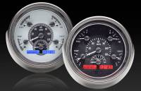 Dakota Digital (Gauges) - 1932-57 Ford Cars - Gauges - 1951 Ford Car Analog Instrument System
