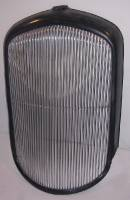 "Alumicraft Grilles - Grills - 1932 Plymouth PB Grill - 3/8"" Spacing - Front Polish"