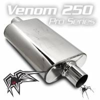 "Black Widow Exhaust - Pro Series-Venom 250 - 3"" offset/center"