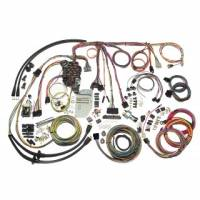 American Autowire - 1955-1957 Chevy Passenger, Wagon, Nomad - Electrical Components - 1957 Chevy Passenger, Wagon, Nomad Wiring Harness