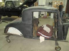 1932 Plymouth Coupe Partial Build Cover