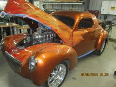 1942 Willis Coupe Cover