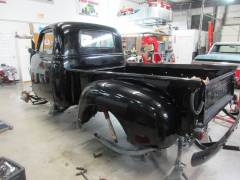 1951 Chevy Pick Up Partial Build Cover