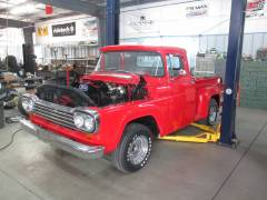 1959 Ford F-100 Partial Build Cover