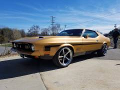 1972 Mustang Mach 1 Full Build Cover
