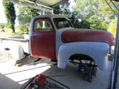 1949 Chevy Pick Up Partial Build Cover