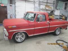 1969 Ford Ranger Pick Up Partial Build Cover