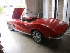 1962 Corvette Partial Build Cover