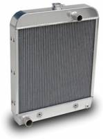 PRC Radiators - Cooling - 1952 Ford Truck Aluminum Radiator for SBC Motor