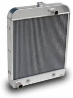 1952 Ford Truck Aluminum Radiator for SBC Motor