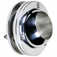 "Steering and Handling - 2"" Swivel Ball Chrome Floor/Firewall Mount"