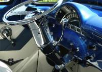"Universal 30"" Steering Column Tilt Column-Shift - Chrome"