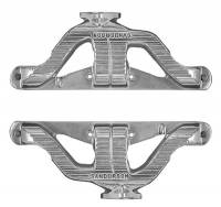 Sanderson Headers - Engine Components - Sanderson - Small Block Chevy Cast Series - Plain QP1000-P