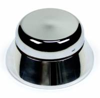 Ididit, Inc (Steering Columns). - Steering and Handling - Chrome 3-Bolt Steering Wheel Adaptor - 'Bell' style with Horn