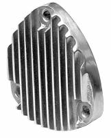 Sanderson Headers - Exhaust Accessories and Flange Sealer - Engine Components - Finned Aluminum Header Block Off Plates