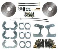 "MBM Brakes - Brakes and Brake Kits - MBM-Ford 9"" Rear Disc Brake Conversion Kit -DBK9"
