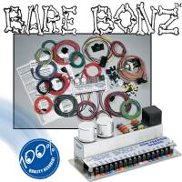 Ron Francis Wiring - Electrical Components - Ron Francis Bare Bonz Complete Wiring Harness -Ford BB-78