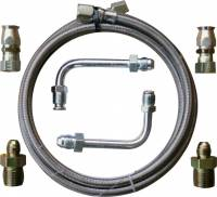 Gotta Show (SS Fittings, Hose Kits) - Transmissions - Transmission Cooler Lines For External Cooler GM or Ford Transmission