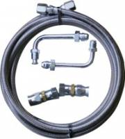 Gotta Show (SS Fittings, Hose Kits) - Transmissions - Transmission to Radiator Hose Kit For Ford Transmissions
