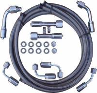 Gotta Show (SS Fittings, Hose Kits) - Air Conditioning - Stainless Steel A/C Hose Kit