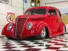 1937 Ford Slantback Sedan Complete Build Cover