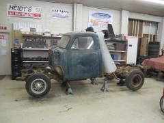 1954 Chevy Truck Partial Build Cover